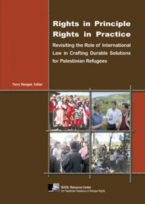"BADIL Statement on the Occasion of World Refugee Day and Release of: ""Rights in Principle – Rights in Practice"""